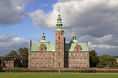 Copenhagen Rosenborg Slot castle — Stock Photo