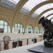 Stock Photo: Gare d'Orsay museum Paris