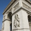 Stock Photo: Paris arc de triomphe