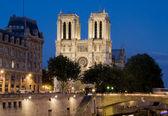 Paris,Notre Dame Cathedral — Stock Photo