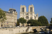 Paris,Notre Dame Cathedral — Stock Photo