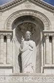 Paris montmartre sacre coeur — Stockfoto