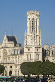 Paris view of Tour Saint Jacques — Foto de Stock