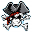 Pirate — Vector de stock #7579626