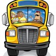School bus — Vetorial Stock  #7608168