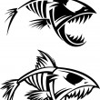 Fish skeleton - Stock Vector