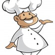 Chef cartoon — Imagen vectorial