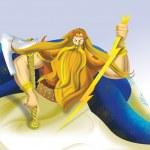 Perun, the god of thunder — Stock Photo #7680647
