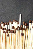 Matches - not like everyone else — Stock Photo
