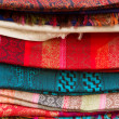 Stock Photo: Kashmir Scarfs