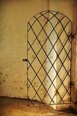 Metallic doors — Stock Photo