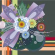 Royalty-Free Stock Imagen vectorial: Flower composition