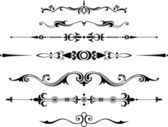 Decorative dividers — Stock Vector