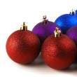 Royalty-Free Stock Photo: Christmas Balls Front View