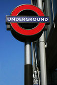 London underground sign — Stock Photo