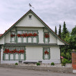 Haus in Wasserburg am Bodensee - Stock Photo