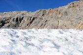 Zugspitze Schnee Fels Himmel — Stock Photo