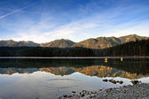Eibsee am Abend — Stock Photo