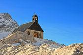 Zugspitze kapelle — Zdjęcie stockowe