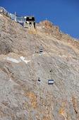 Zugspitze Gletscherbahn — Stock Photo