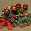 Royalty-Free Stock Photo: Adventskranz