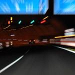 Nachtfahrt auf der Autobahn — Stock Photo #7949182