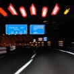 Nachtfahrt auf der Autobahn — Stock Photo #7949185