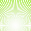 Green ray of light vector - Stok Vektör
