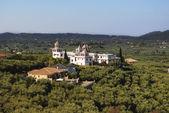 Griekenland. klooster. landschap — Stockfoto