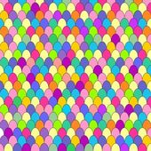Corolful background. Cheerful fish scales — Stock Vector