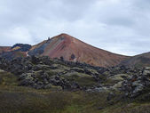 Hills on the Laugavegur hike, Iceland. — Stock Photo