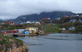 Sisimiut town, Greenland. — Stock Photo