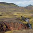 Laugavegur hike in Iceland, north of Thorsmork. — Stock Photo #7615297