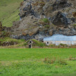Abandonned farm, Iceland. — Stock Photo