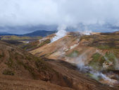 Laugavegur hike in Iceland. — Stock Photo