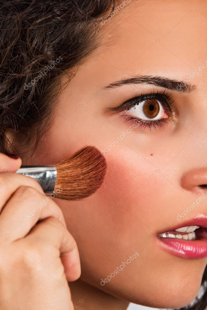 Beautiful young adult make-up — Stock Photo #7566060