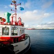 Reykjavik harbor, Iceland — Stock Photo #7536130