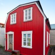 Traditional scandinavihouse — Stok Fotoğraf #7536296