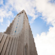 Hallgrimskirkja church in Reykjavik, Iceland — Stock Photo