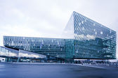 Harpa concert hall in Reykjavik, Iceland — Stock Photo