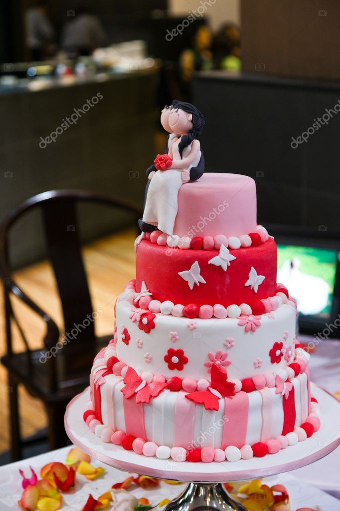 Wedding Cake Couple Decoration