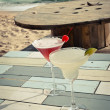 Cocktail on the beach — Stock fotografie
