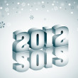 2012 Winter — Stock Vector