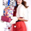 Christmas girl — Stockfoto