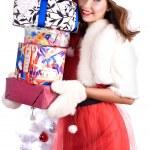 Very many gifts — Stock Photo