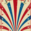 Circus vintage poster - Stock Photo