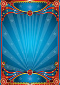 Blue circus background — Stock Photo