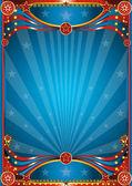 Blue circus background — Stock Photo