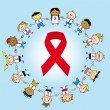 Stock Vector: Aids day