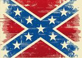 Konfederasyon bayrağı — Stok Vektör
